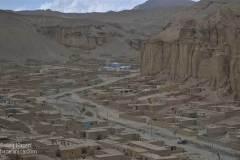 دره اژدر؛ یکی از شهرکهایی که توسط شهرداری بامیان به مهاجرین داده شده است. مرکز بامیان